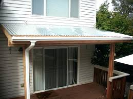 corrugated metal awning corrugated metal awning design corrugated metal awning
