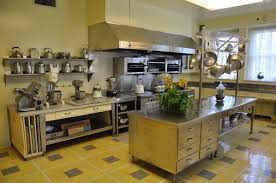 Industrial Looking Kitchen Kitchen Industrial Kitchen For Easy Cleaning With Best Look