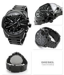 diesel dz4283 mega chief analog quartz men s watch black diesel dz4283 mega chief analog quartz men s watch black metal strap