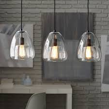 duo walled chandelier 3 light west elm for three pendant