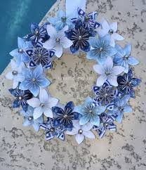 Christmas Paper Flower Wreath Paper Flower Christmas Wreath Festival Collections