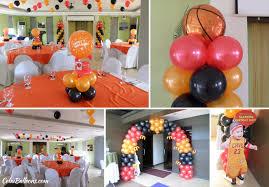 Sports Themed Balloon Decor Birthday Party Venues In Cebu Cebu Balloons And Party Supplies