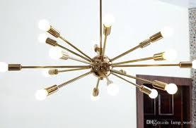 mid century modern pendant light new modern detail classic mid century modern pendant lamp polished brass sputnik atomic chandelier star mid century modern
