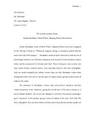 essay to edit writing center term paper literary  literary analysis essay example short story 15015 literary analysis essay example short story essay medium