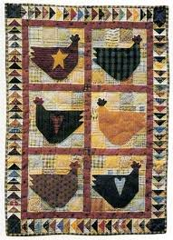 Chicken Salad Quilt Pattern | Quilted Roosters - Hens - Chicks Etc ... & Chicken Salad Quilt Pattern | Quilted Roosters - Hens - Chicks Etc. |  Pinterest | Chicken quilt, Patterns and Mini quilts Adamdwight.com