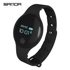 SANDA <b>Smart Bluetooth 4.0</b> Pedometer Bracelet Watches Sport ...
