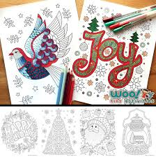 Coloring pages aren't just for kids anymore. Beautiful Printable Christmas Adult Coloring Pages Woo Jr Kids Activities