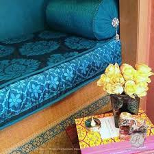 Image Ashley Colorful Diy Decor Painted With Rani Paisley Indian Furniture And Fabric Stencils Royal Design Studio Royal Design Studio Stencils Indian Paisley Motif Stencil