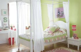 Pink And Green Walls In A Bedroom Bedroom Appealing Decor With Pink Wooden Trundle Bed In Stripes