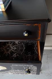 black painted furnitureDishfunctional Designs Paint It Black Stylish Black Painted
