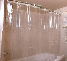 clear top shower curtain heavy duty mildew resistant antibacterial shower curtain liner best way to clean