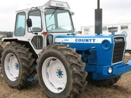 county tractors vintage tractor engineer the final model to be introduced by county was the 1884 the ford 401s engine was turbocharged and intercooled to develop 188bhp this tractor was a giant