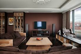 Licious Innovative Living Room With Cream Sofa Attractive Decor Living Room Ideas Brown Furniture