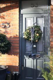 grey front doorFront Doors  Grey Front Door With Sidelight Light Grey Upvc Front