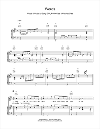 music notes in words boyzone words sheet music notes chords download printable piano vocal guitar right hand melody sku 15128