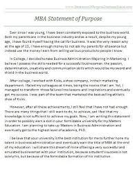 Statement Of Purpose Graduate School Example Pin By Statement Of Purpose Graduate School On Graduate