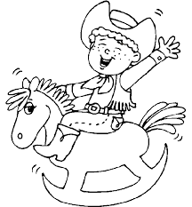 Small Picture Elegant Cowboy Color Pages 95 With Additional Coloring Pages for
