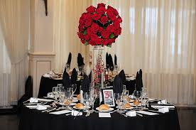 red gold wedding decorations lovely elegant red decoration for wedding black ires