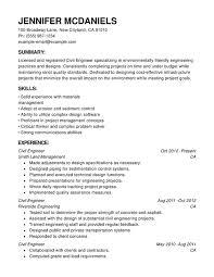 Resume For Engineering Engineering Chronological Resumes Resume Help