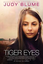 Tiger Eyes Movie Poster Featuring Willa Holland