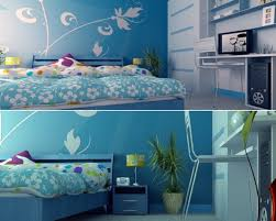 Blue Girl Room
