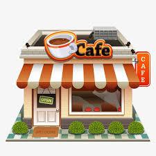 coffee shop building clipart. Exellent Clipart Coffee Shop Business Perspective Building Shop Clipart Business Building  Clipart PNG Image And Coffee
