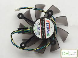 new for 75mm 12v 0 5a firstd fd8015u12s server frameless fan 4pin new 4 pin 4 wries 75mm vga video card fan for firstd fd8015u12s graphic card cooling fan 44mm x 44mm x 44mm x 44mm
