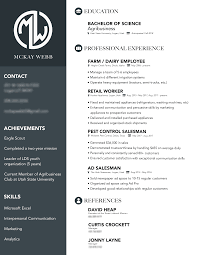Inspiring Professional Resume Design William L Lovell