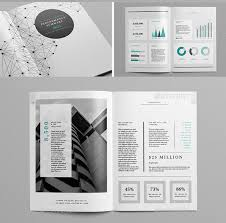 40 Best InDesign Annual Report Templates Print IDesignow Beauteous Annual Report Template Design