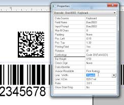 Barcode Mil Size Chart Configure A Datamatrix Symbol To A Specific Mil Size