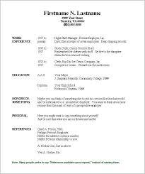 Free Printable Resume Template Amazing Free Printable Resume Template Templates Word Awesome Download