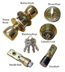 Brass Combination Door Lock Set for Mobile Home Manufactured Housing