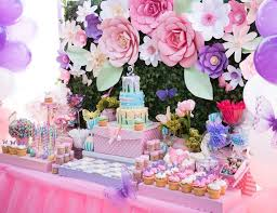 best 25 flower birthday parties ideas