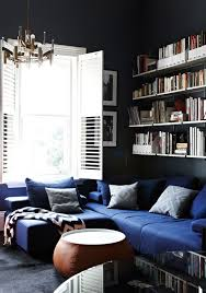 royal blue and charcoal