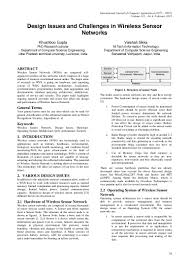 Os Design Issues Design Issues And Challenges In Wireless Sensor Networks