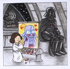 jeffrey brown leia and vader