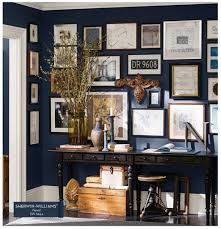 Wall Color Is Naval By Pottery Barn Paint Via Sherwin Williams