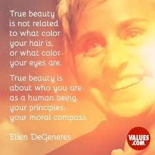 True Beauty Is Not Related To What Color Your Hair Is Or What Color