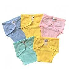 Combo 10 quần bỉm, tả vải cotton sơ sinh Thái Hà Thịnh, chất vải cotton  100% mềm, mịn, thoáng khí, miếng dán mềm, hàng Việt Nam chất lượng, hàng  chính hãng -