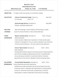 Chronological Resume Format Interesting Format Of Chronological Resume Sample Chronological Resume Sample