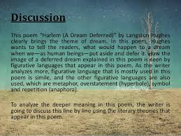 essay on langston hughes dream deferred  hughes dream deferred essays and papers