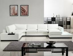 sleek living room furniture. Sleek Living Room, Modern Sectional White Room Furniture Wood H