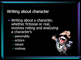 the character sketch essay gayla s keesee education specialist 2 writing about character writing about a character whether fictional or real involves noting and analyzing a character s personality actions values