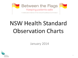 Between The Flags Observation Chart Nsw Health Standard Observation Charts Between The Flags Slhd