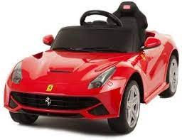 Jamie gets a red ferrari remote control car, and unboxes it. Amazon Com Zh Licensed By Ferrari New 2014 Model Ride On Toy Car With Remote Contol 6v Kids Red Ferrari F12 Toys Games