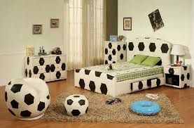 Macu0027s Room Cool Soccer Ball Holders From The Container Store Soccer Bedroom Decor