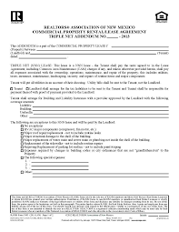 Addendum To Lease Agreement Sample Fresh Template Lease Addendum ...