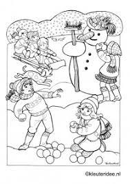 Kleuteridee Winter
