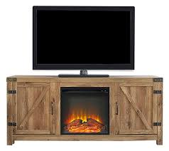 58 barn door fireplace tv stand barnwood rustic entertainment intended for tv prepare 5