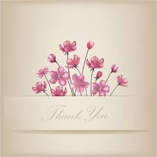 free thank you notes templates thank you design card floral thank you card free vector in adobe